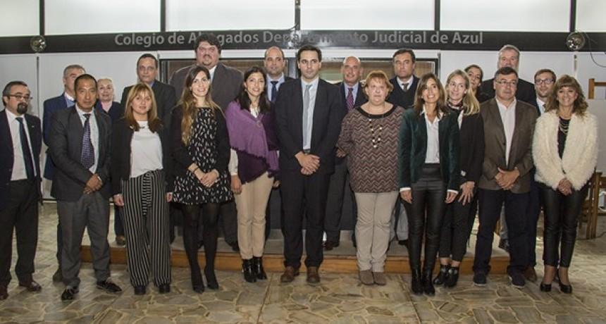 Distribuyeron cargos para el Consejo Directivo del Colegio de Abogados Departamental Azul