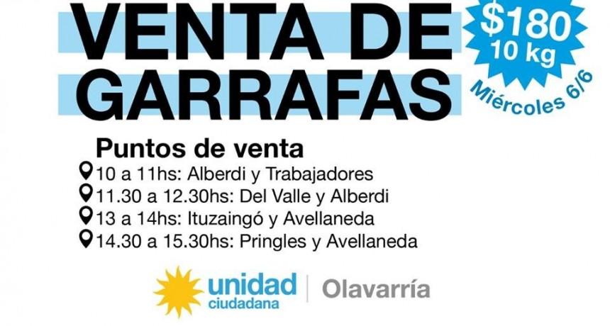Unidad Ciudadana realizará operativos para vender garrafas a $180