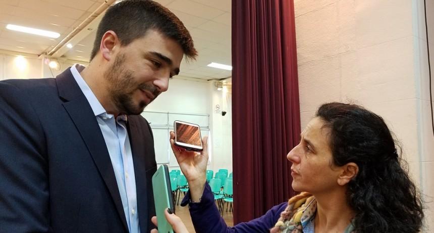Galli: 'los periodistas son multiplicadores de los mensajes'