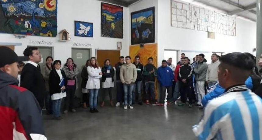 Día del periodista en la Unidad 38