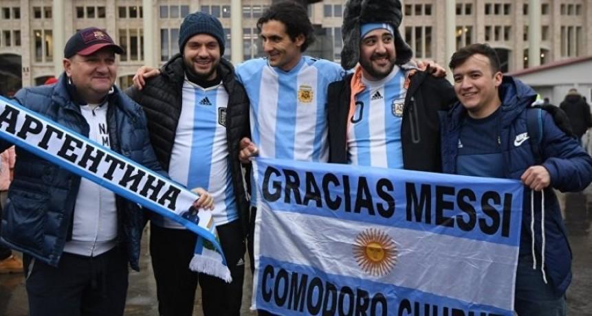 Rusia: A cuatro días del debut de Argentina