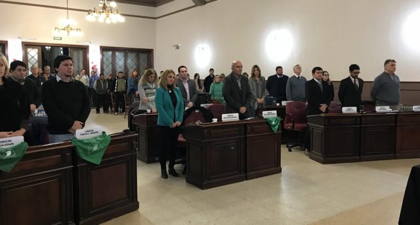 Sesionó el Honorable Concejo Deliberante