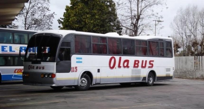 Restituirán servicios de Ola Bus desde el jueves