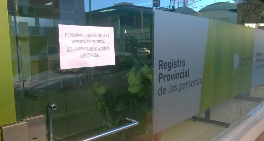 La actividad comercial opaca la adhesión al paro en Olavarría