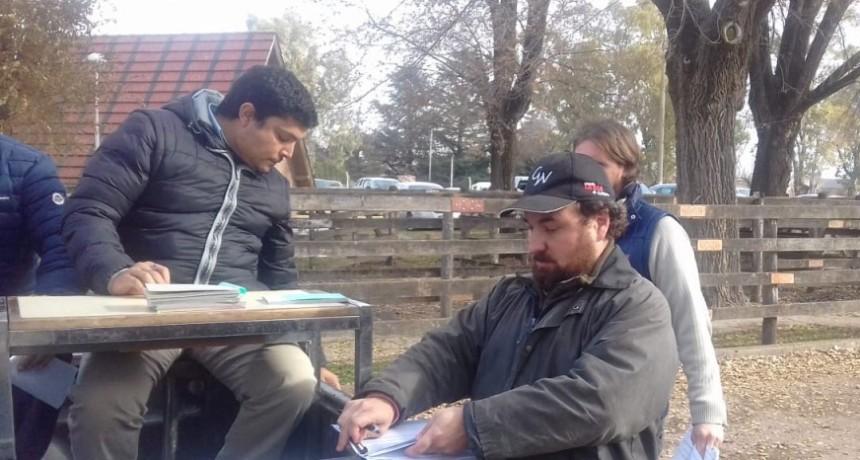 Remate Alfredo Mondino Ezequiel Hourcade Sociedad Rural de Olavarría