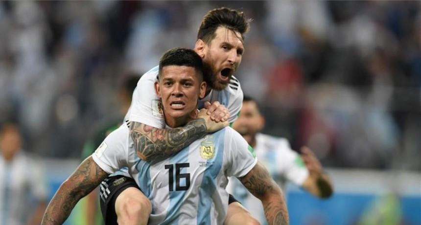 El partido Argentina Francia podrá disfrutarse en el Teatro Municpal