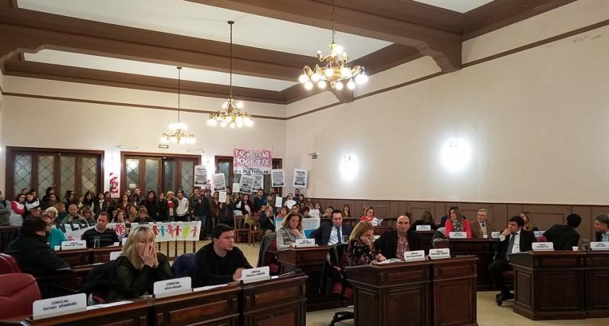 Educación y seguridad los temas protagonistas de la sexta sesión del Concejo