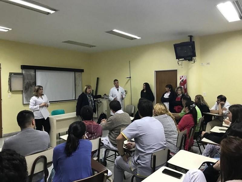 Nuevos residentes se incorporaron al Hospital Municipal