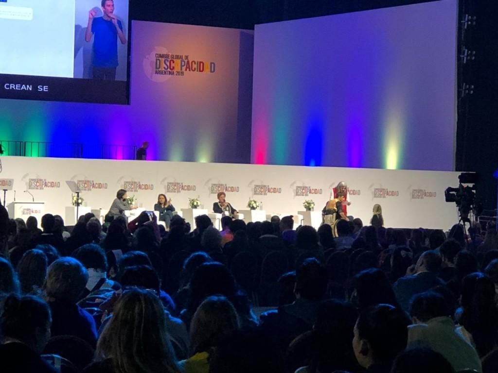 Olavarría presente en la cumbre mundial sobre discapacidad