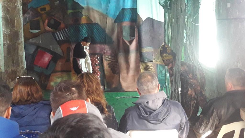 Se presentó la obra teatral ´Salvajada´ en las cárceles de Sierra Chica