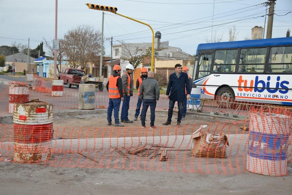 Habilitación del semáforo en Av. Trabajadores e Independencia