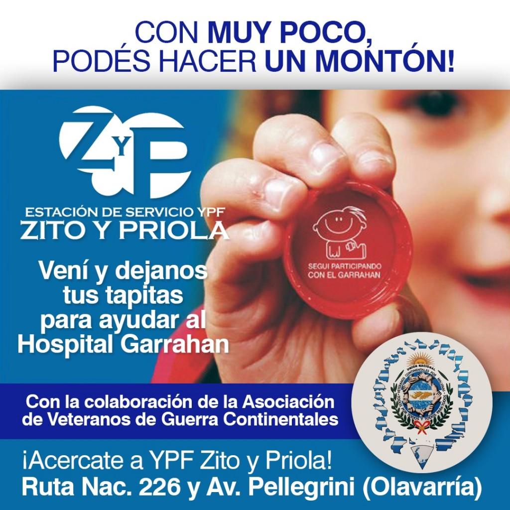 Acción Solidaria en la Estación YPF de Zito y Priola