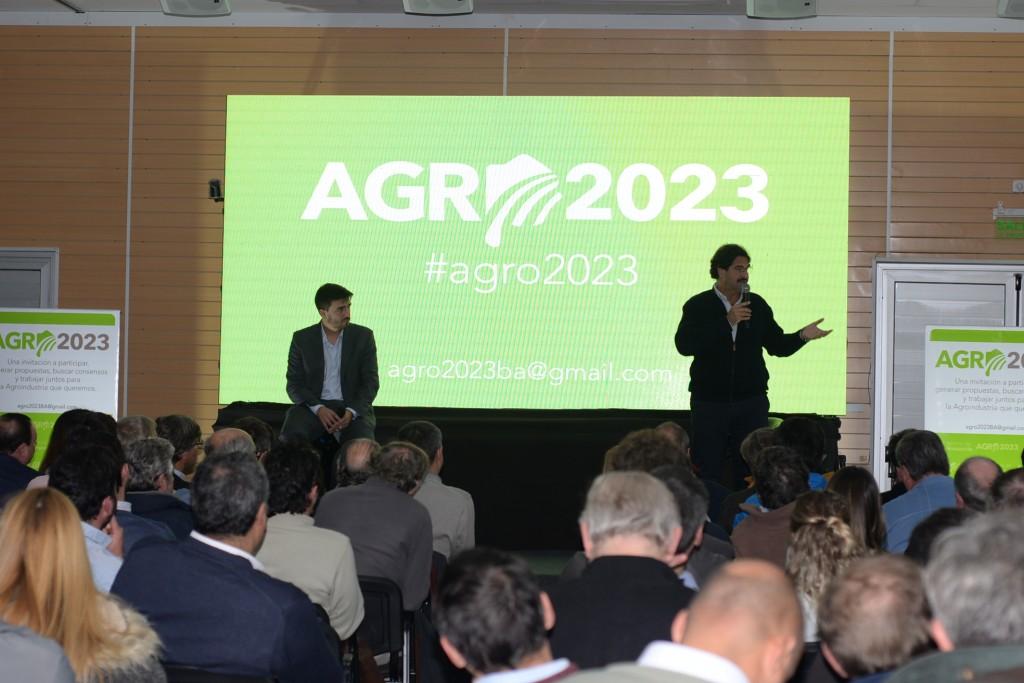 Encuentro #Agro2023 en Olavarría, con la presencia del Ministro Sarquís