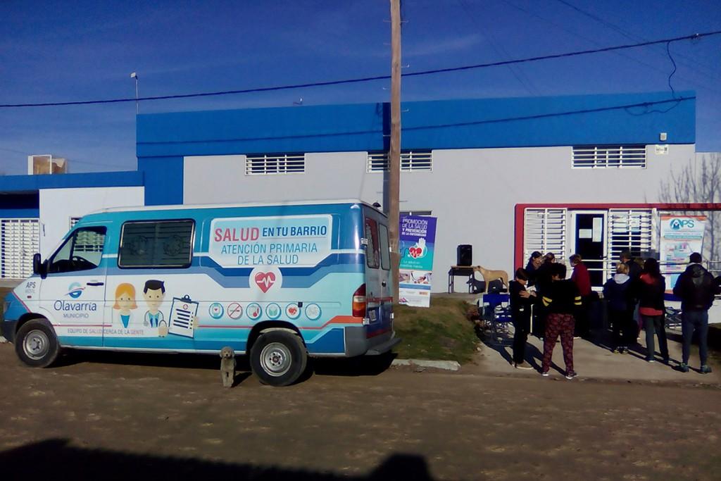 Se realizó una jornada sanitaria integral en Villa Magdalena