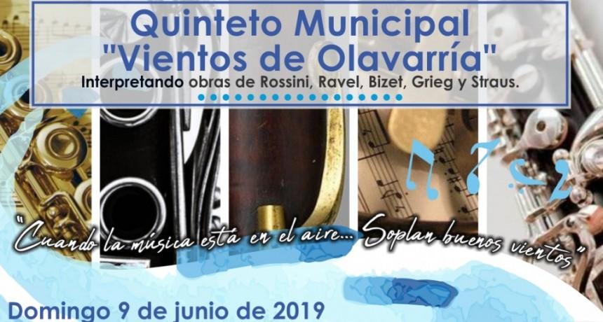 Concierto del Quinteto Municipal en Ciencias Económicas