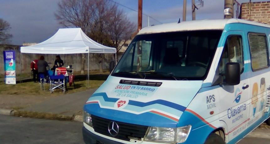 El barrio CECO I fue sede de una nueva jornada sanitaria integral