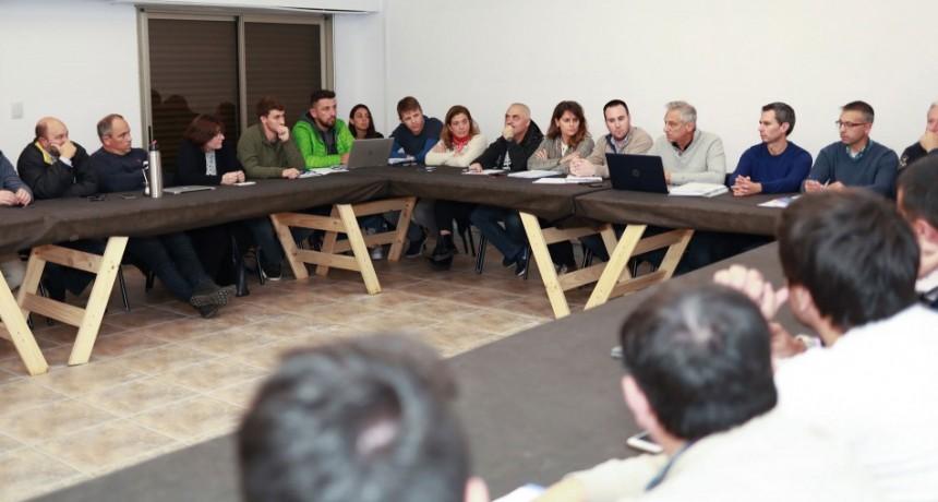 El Eseverrismo reunió a coordinadores de sus equipos técnicos