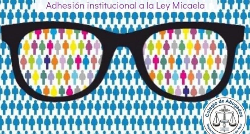 El Colegio de Abogados del Departamento Judicial de Azul adhirió a la Ley Micaela
