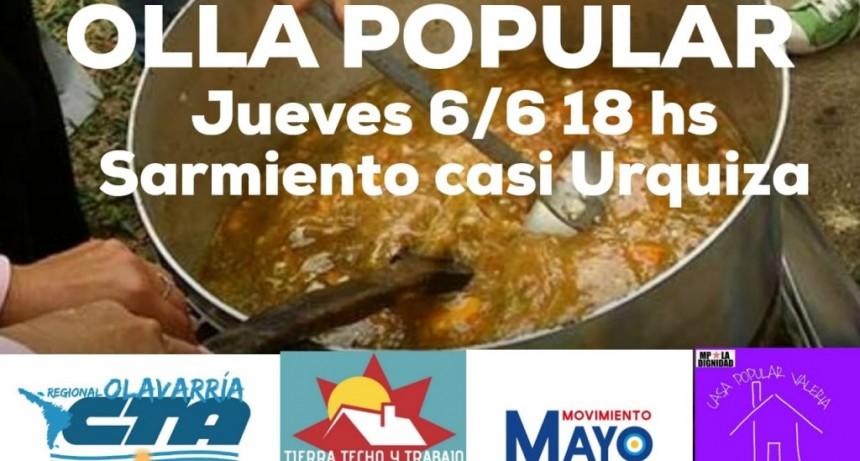 Olavarría: 'No hay información fiable de comedores, se la vamos a demandar al municipio'