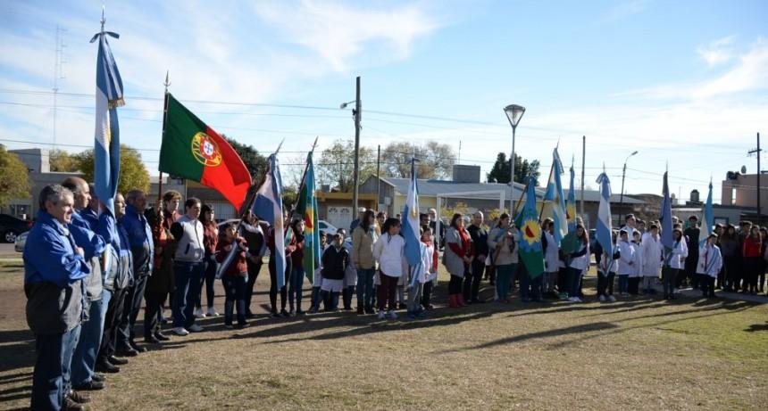 Homenaje a la Afirmación de los Derechos Argentinos sobre las Islas Malvinas
