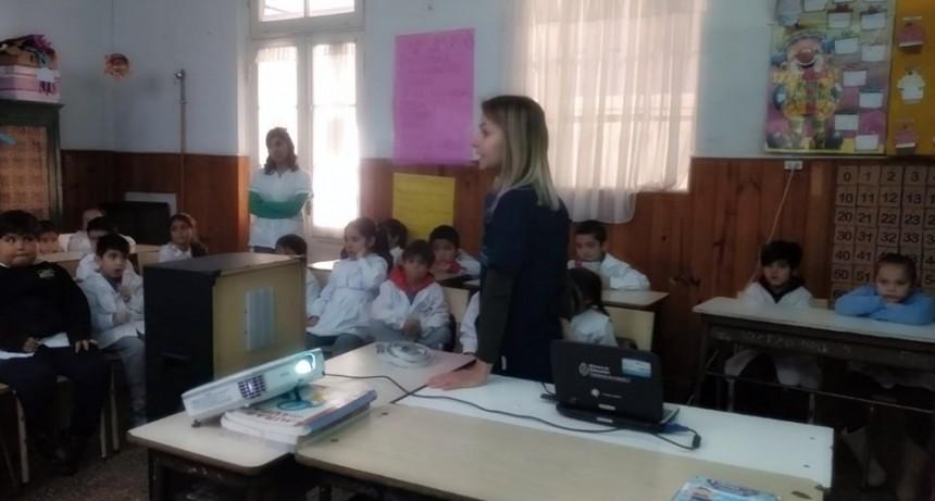 Bromatología capacitó a niños de la EP N° 8 sobre inocuidad de los alimentos