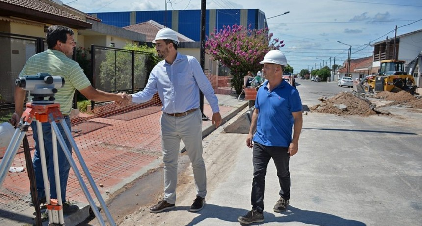 Liberación al servicio público de la red cloacal en Villa Floresta y Belgrano