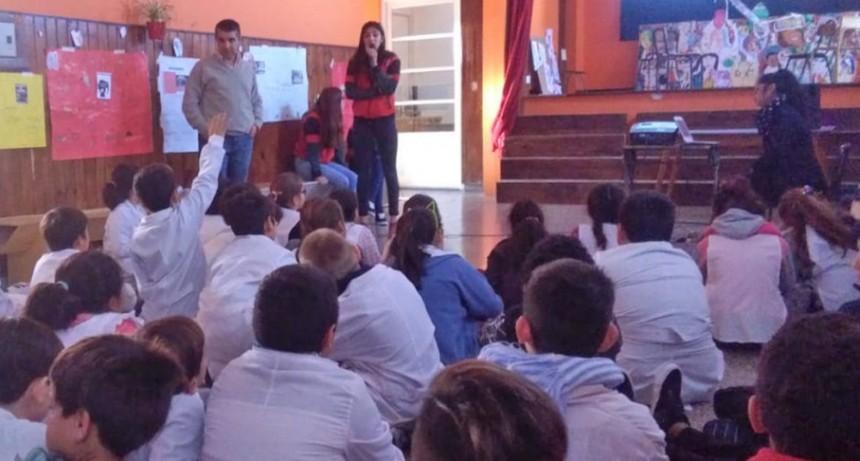 Más de 500 alumnos de la ciudad participaron de las jornadas sobre Seguridad Vial