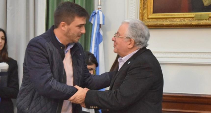Ezequiel Galli revalidó a Olavarría como subsede de UBA XXI
