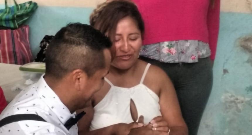 Nuevo casamiento en la Unidad 27 de Sierra Chica