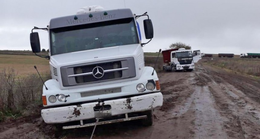 Caminos rurales: tres infracciones por circular durante las lluvias