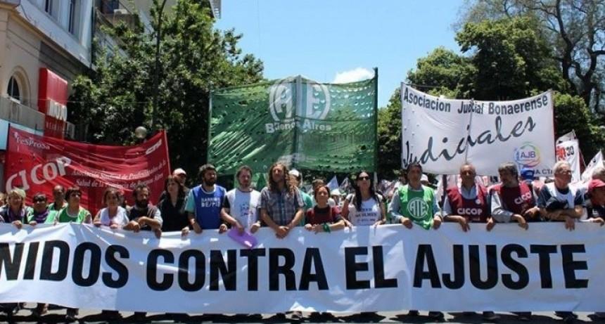 Judiciales realizan una 'Jornada Provincial de Protesta'