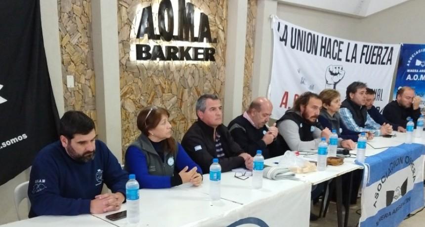 Loma Negra Barker quedará funcionando con 160 obreros