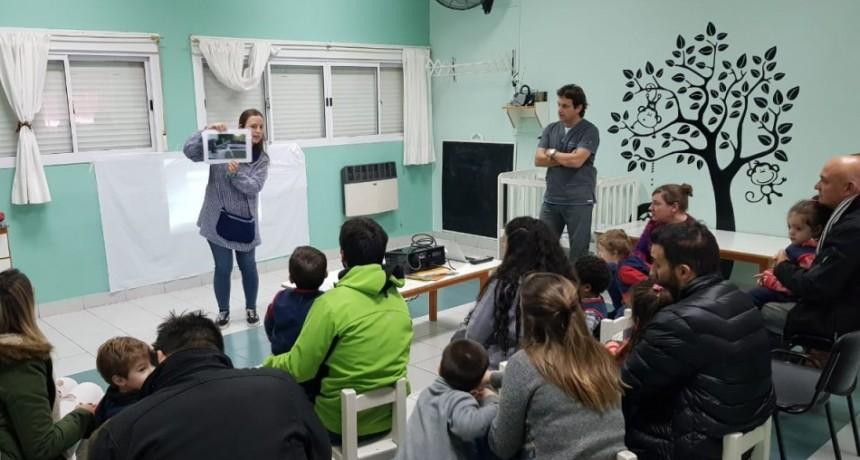Cierre del proyecto del cuidado del cuerpo en el Jardín Piruetas
