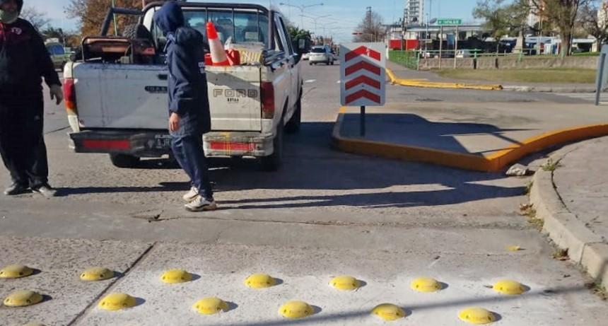 Tachas, mesetas y demarcaciones: trabajos de Control Urbano