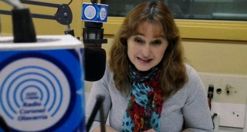 """Dra Adriana Capuano: """"Seguiré militando fuertemente desde el llano, por Fernández-Fernández"""""""