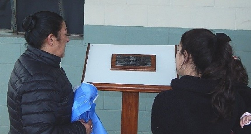 Homenajearon a penitenciario fallecido en siniestro vial