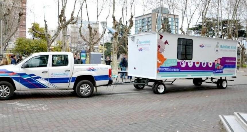 El quirófano veterinario móvil en Hinojo
