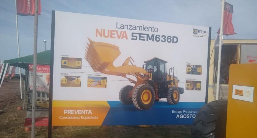 LU32 en Agroactiva: Caterpillar, de Brasil a la Argentina