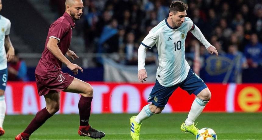 En dúplex por AM y FM  Radio Olavarría transmitirá el partido de Argentina