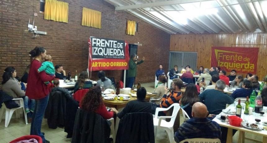 El FIT-Unidad lanzó su campaña con una importante cena