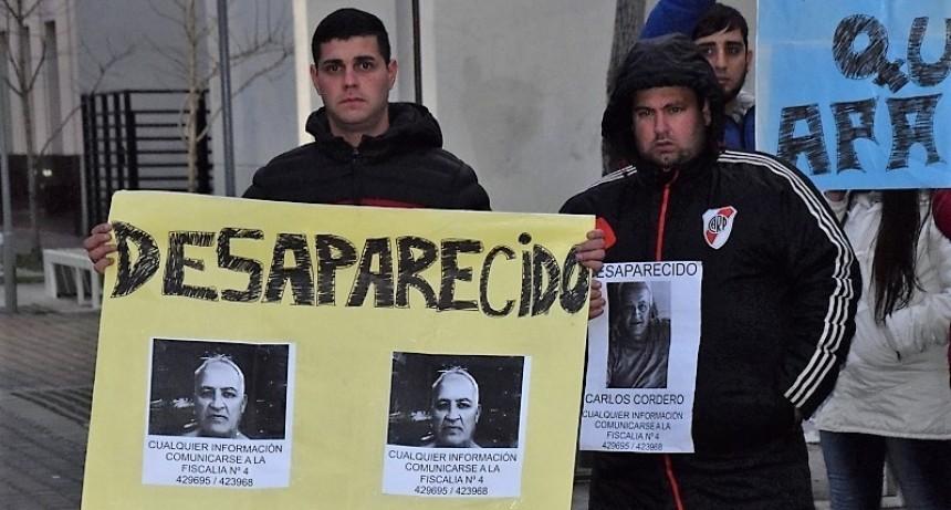 Familiares del desaparecido Cordero, reclamaron su aparición