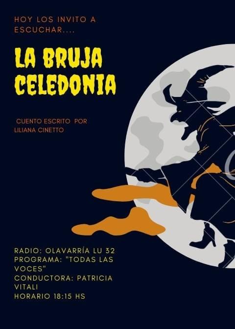 """En Cuentos que viajan: """"La bruja Celedonia"""""""
