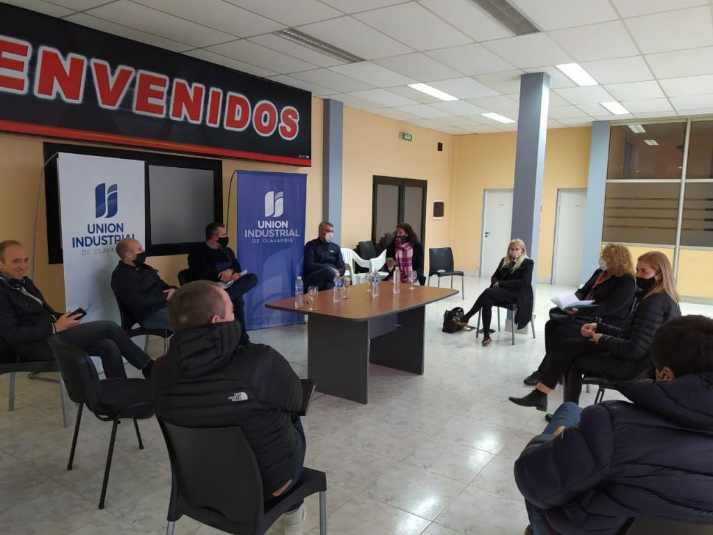 Schwindt se reunió empresarios PyME locales para analizar cómo reactivar al sector después de la pandemia