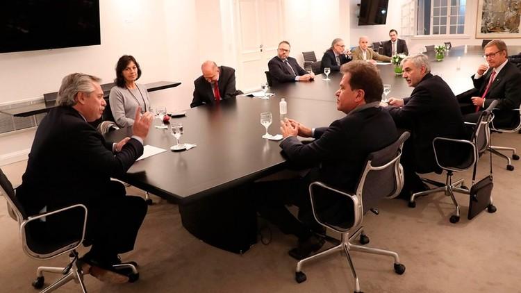 Alberto Fernández ya está reunido con el CEO de Vicentin en Olivos