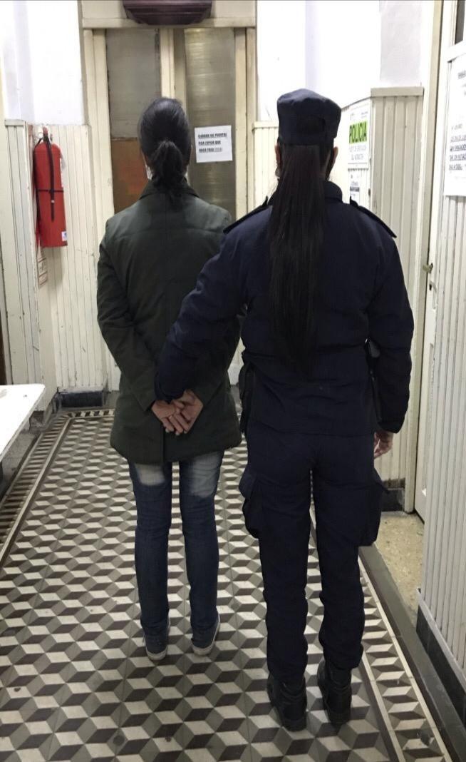 Una mujer detenida a pedido del Juzgado de Familiar