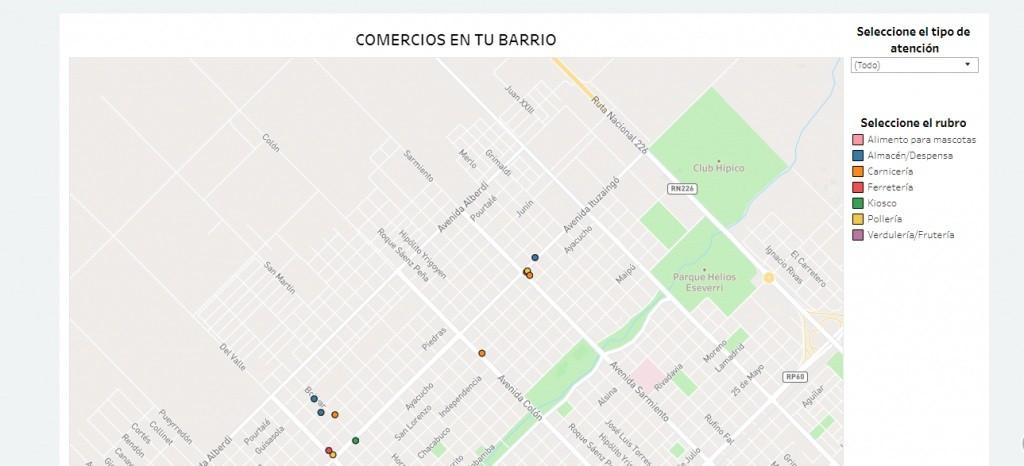 Comercios en tu Barrio: el municipio difunde el registro