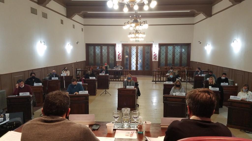Juntos por el Cambio impuso su mayoría en la cuarta sesión del Concejo