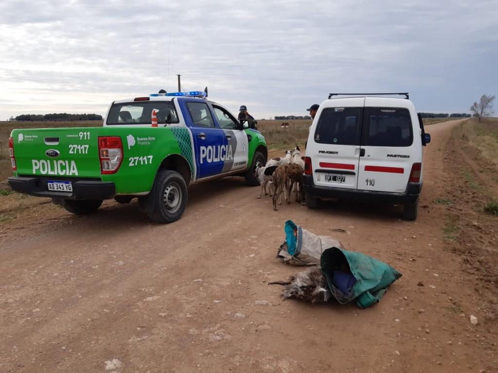 Casi un centenar de infractores en la región, detectados por las patrullas rurales