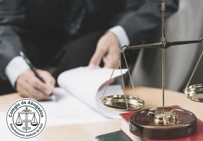 """Colegio de Abogados departamental  Azul:""""Se busca privatizar una parte de la justicia"""""""
