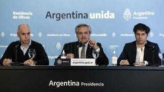 Fernández, Kicillof y Rodríguez Larreta acordaron avanzar en mayores restricciones a la movilidad